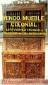 MUEBLES TALLADOS COLONIAL PERUANO LIMA PERÚ SUDAMERICA