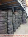 Neumáticos semi nuevos con un 10% de uso